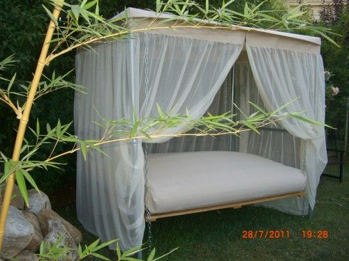best 25 outdoor swing beds ideas on pinterest hammock. Black Bedroom Furniture Sets. Home Design Ideas