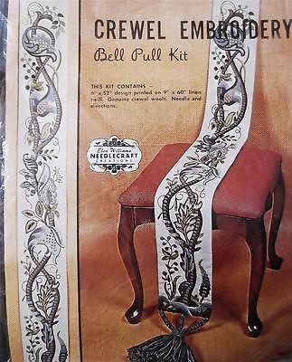 Vintage crewel embroidery kits #5