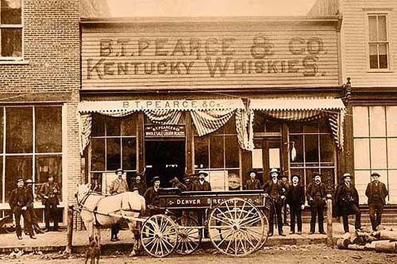 B. T. Pearce Saloon Aspen, Colorado, 1890