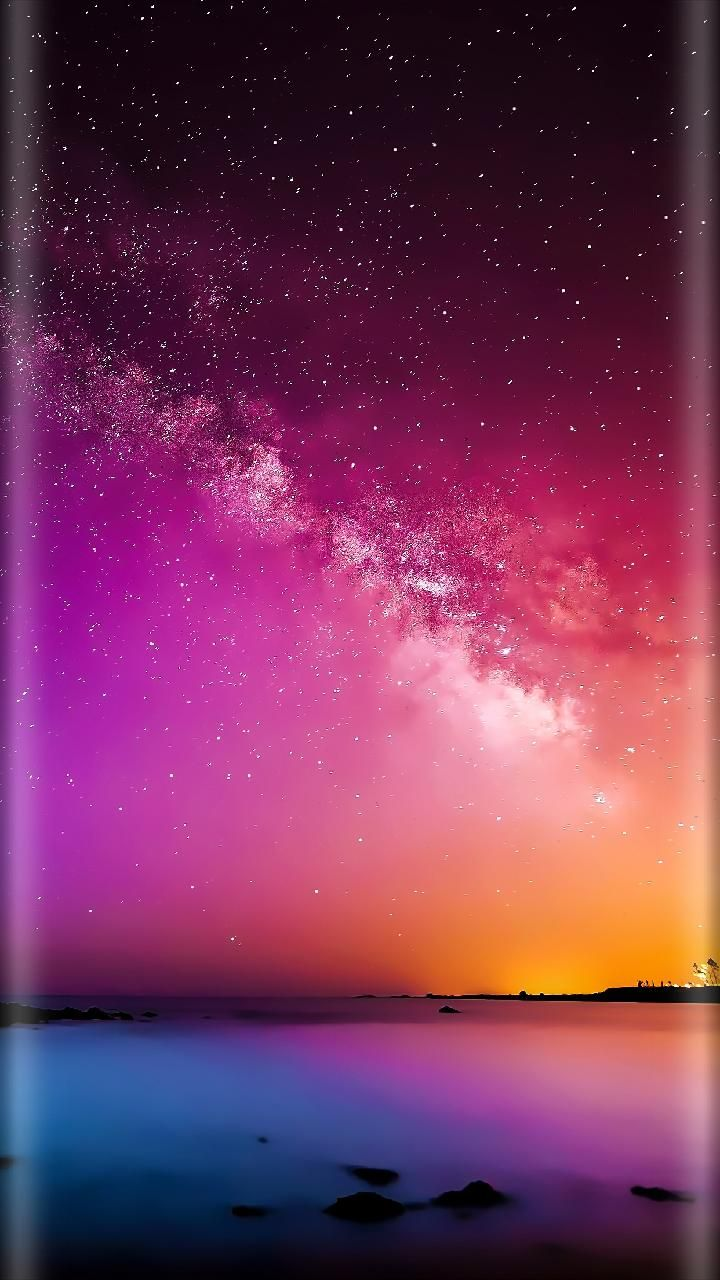 Download Edge Milky Way Wallpaper By Gary4louise Now Browse Millions Of Popular Galaxy Wallp Iphone Wallpaper Sky Starry Night Wallpaper Galaxy S8 Wallpaper