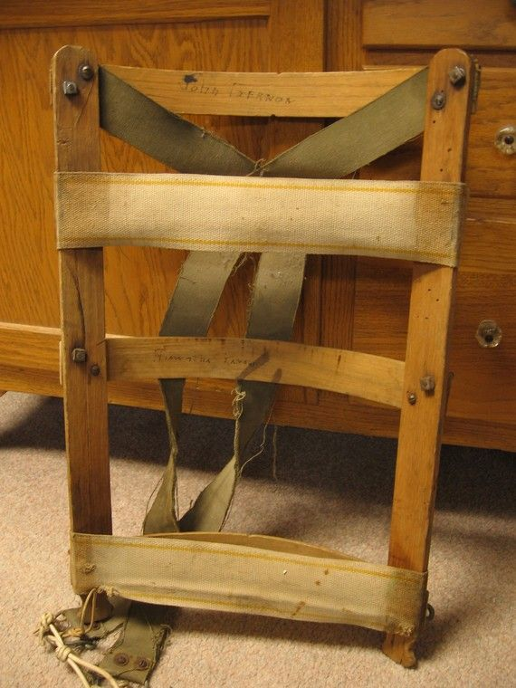 Vintage Wooden Backpack Frame by KansasWheatField on Etsy | bags ...
