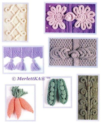 350 способов украсить вязаное изделие вяжем вышиваем плетём