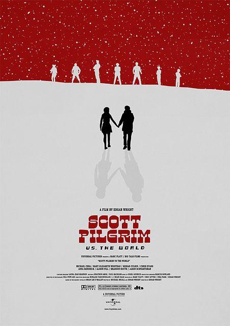 Scott Pilgrim Vs The World Posteres De Filmes Filmes Poster