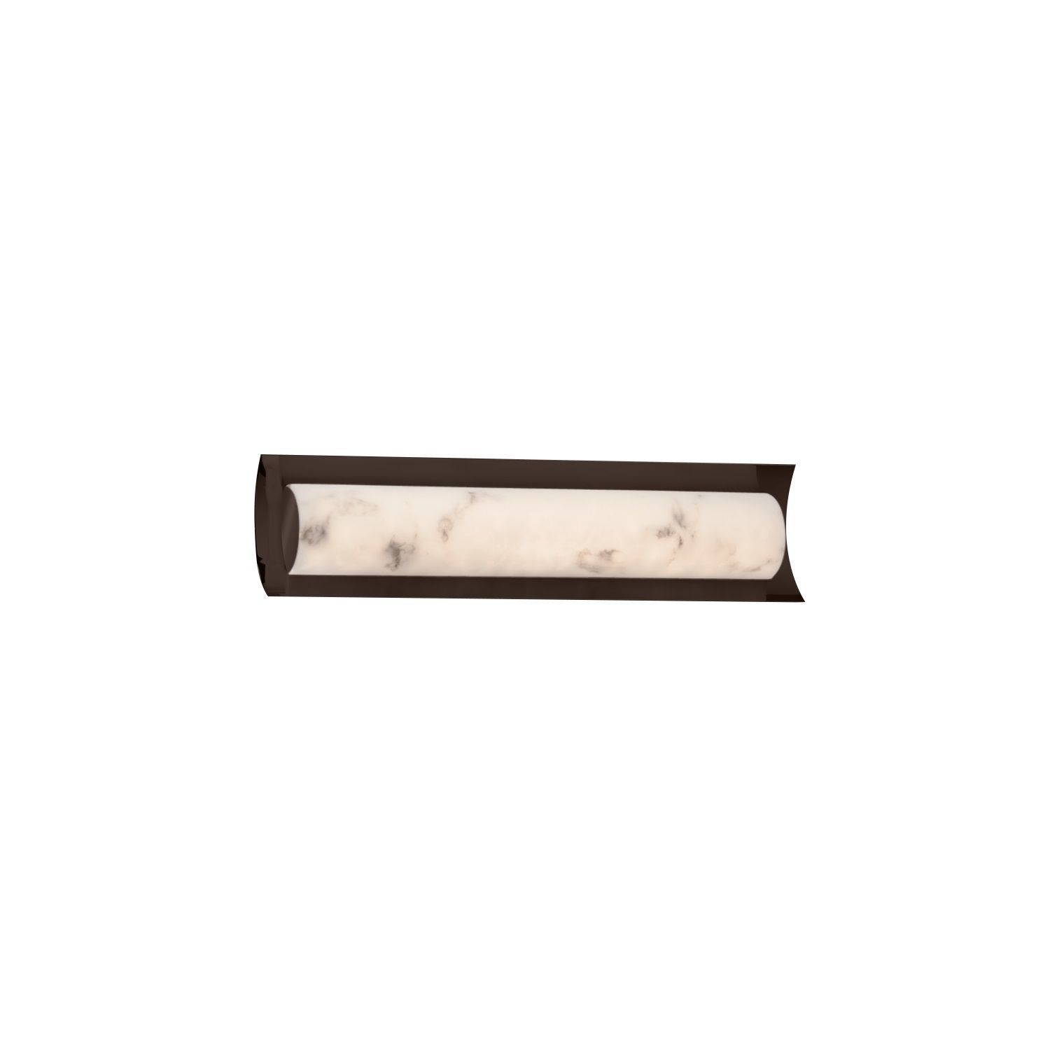 Justice Design Group LumenAria Lineate 22 inch Linear LED Bronze Bath Bar