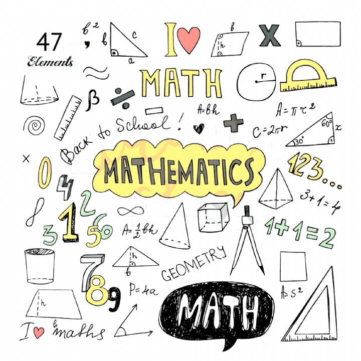 Hand Drawn Mathematics Clip Art Math Elements And Symbols Back Image 0 Education Wallpaper Life How To Draw Hands Math Wallpaper Mathematics
