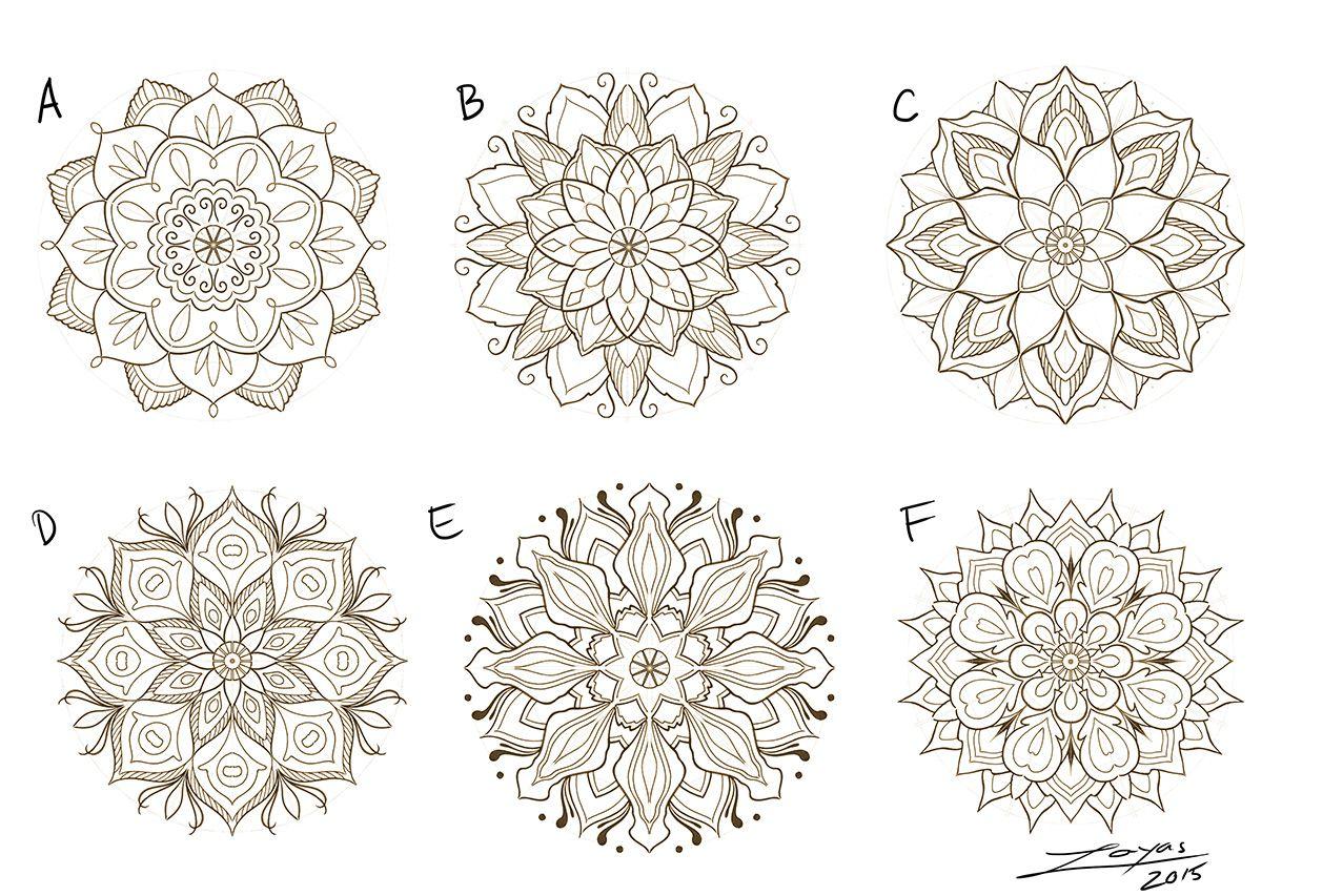 mandala designs Mandala meaning, Lotus mandala meaning