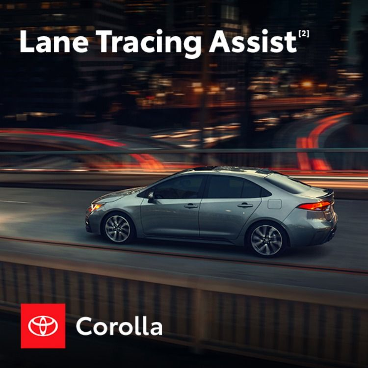 Toyota Safety Sense™ 2.0 [1] Is Standard, Because Roads