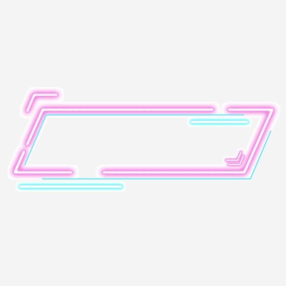 Gradient Neon Border Border Clipart Neon Border Png Transparent Clipart Image And Psd File For Free Download Neon Png Powerpoint Background Design Infographic Design Template