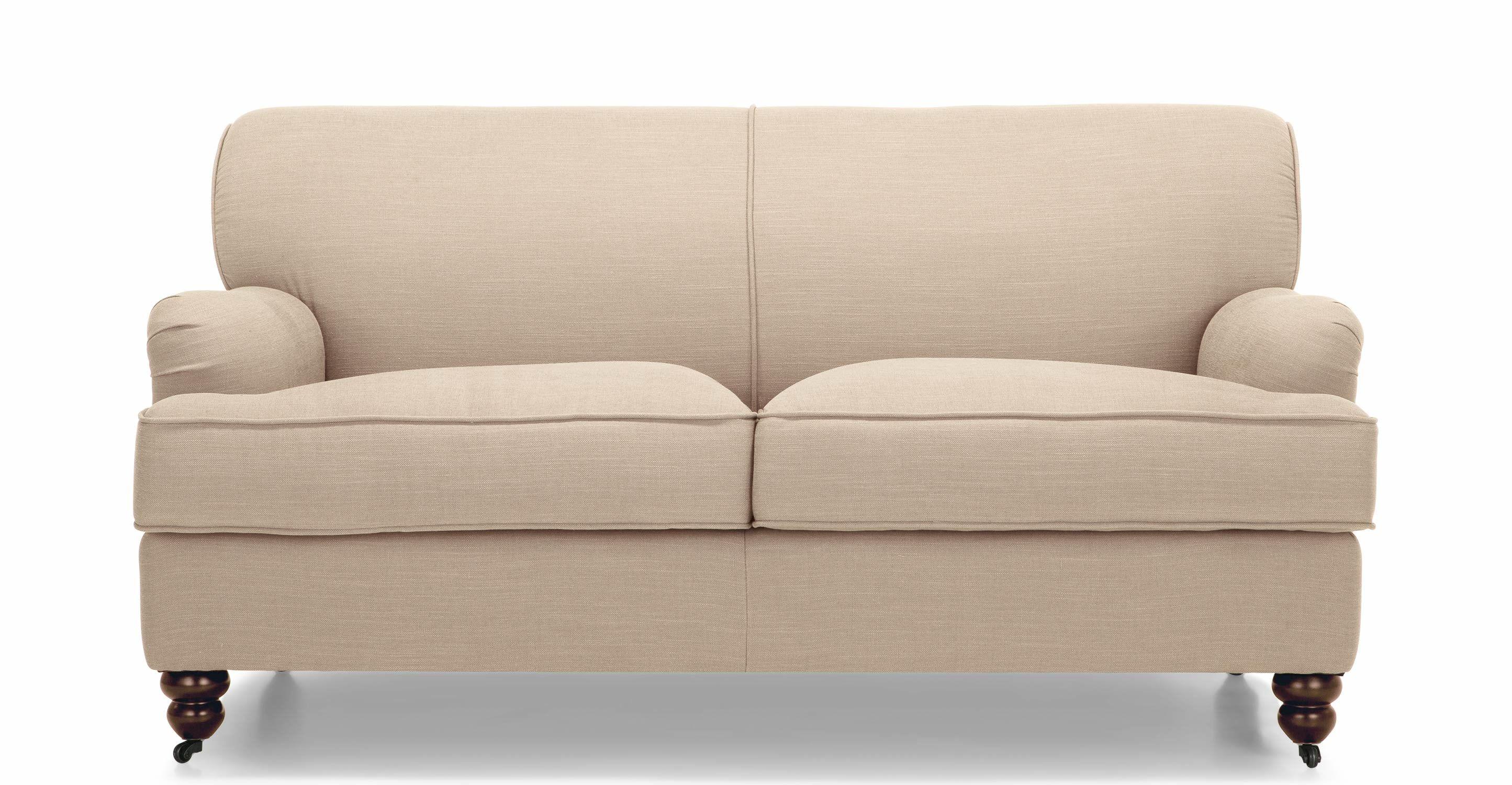 Orson 2 Seater Sofa, Biscuit Beige