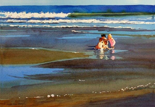 Seascape - Susan Murphy Watercolor