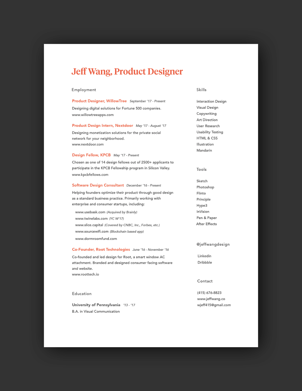 Is It Too Late To Get Into Ux In 2020 Resume Design Ux Design Resume