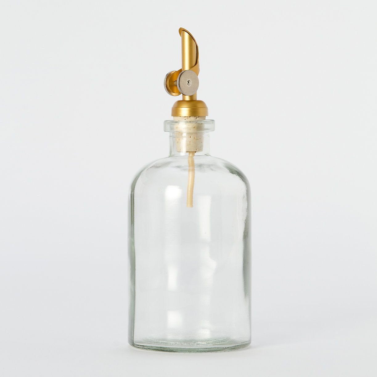 af1dfac9140c Once you drizzle oil from this recycled glass jar with a brushed ...