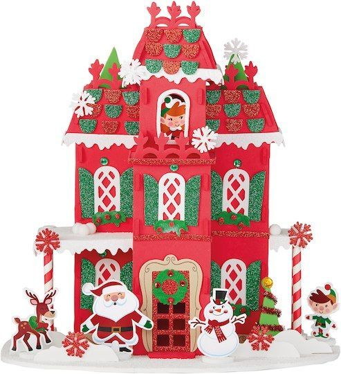 Buy The Christmas House 3d Structure Foam Craft Kit By Creatology