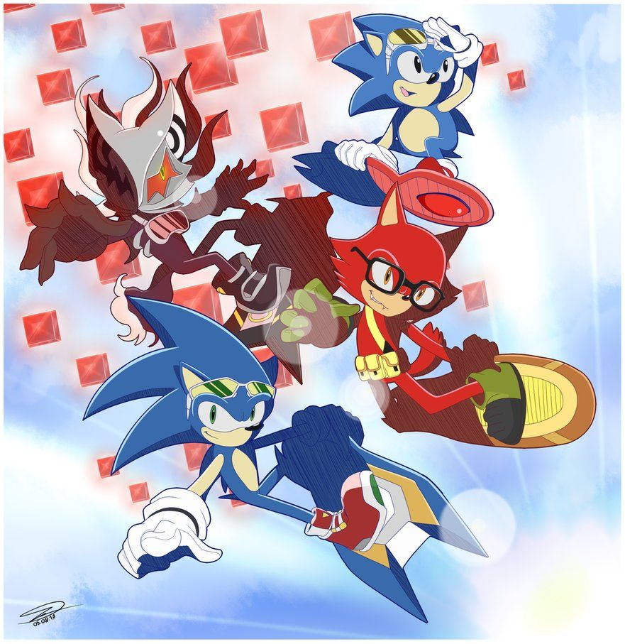 Sonic Riders X Sonic Forces Sonic Sonic Art Anime
