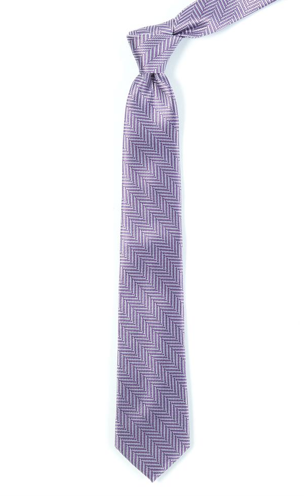 "3.25"" wide / regular length  NATIVE HERRINGBONE  - lavendar"