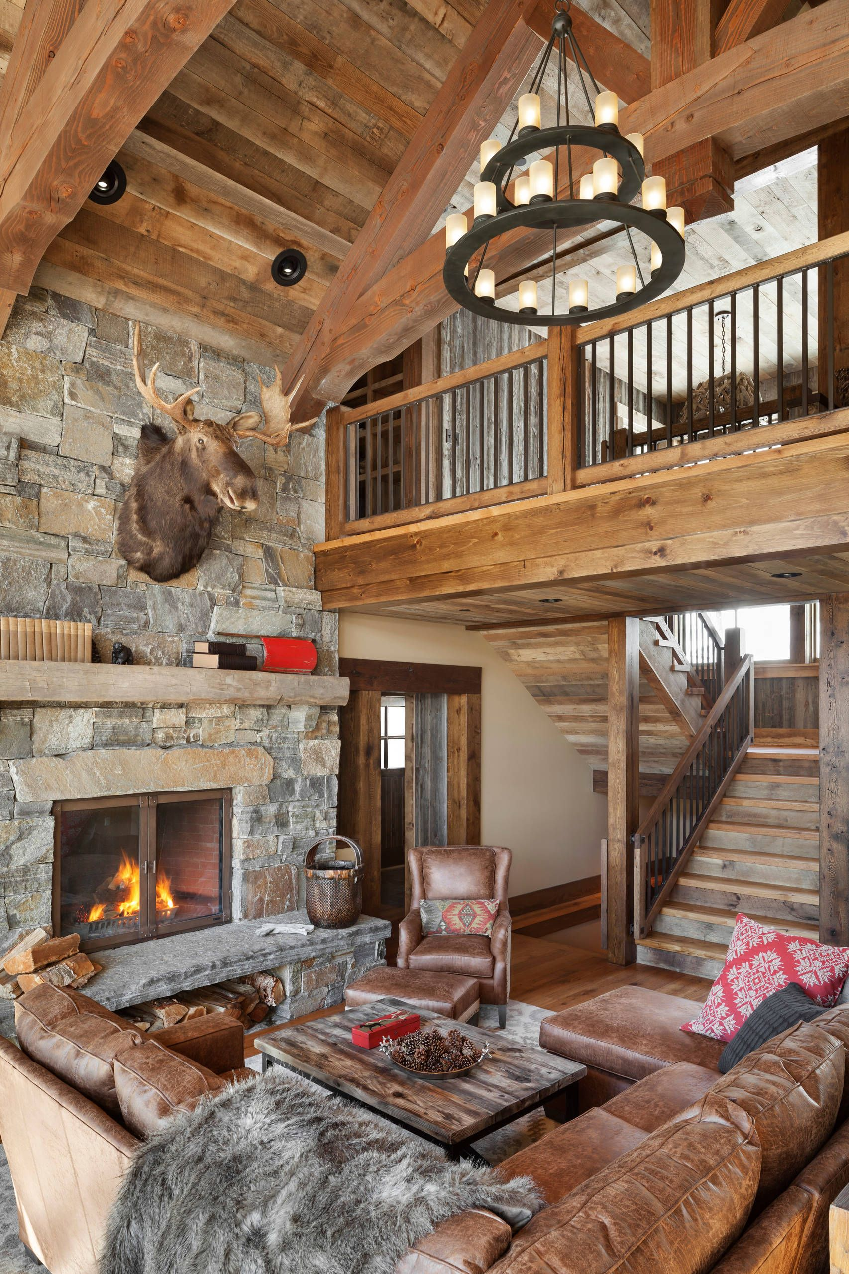 Best Of Rustic Living Rooms Design Ideas Rustic Living Room Design Cabin Style Modern Cabin Decor #rustic #cabin #living #room