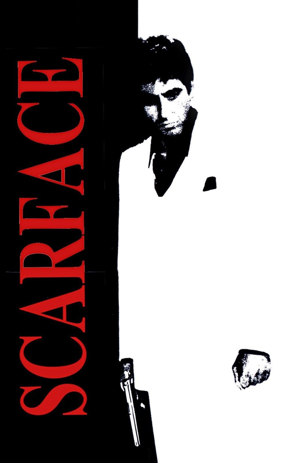 """Details about Al Pacino Scarface , Movie 24""""x36"""" Canvas"""