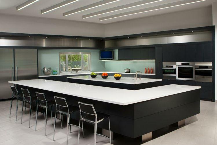 cocina minimal | Diseño interior | Pinterest | Cocinas, Casas y ...
