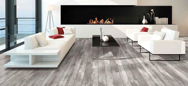 Pergo Portfolio Iceland Oak Grey 5 23 In W X 3 93 Ft L Embossed Wood Plank Laminate Flooring Lowes Com Gray Wood Laminate Flooring Cheap Flooring Grey Laminate Flooring