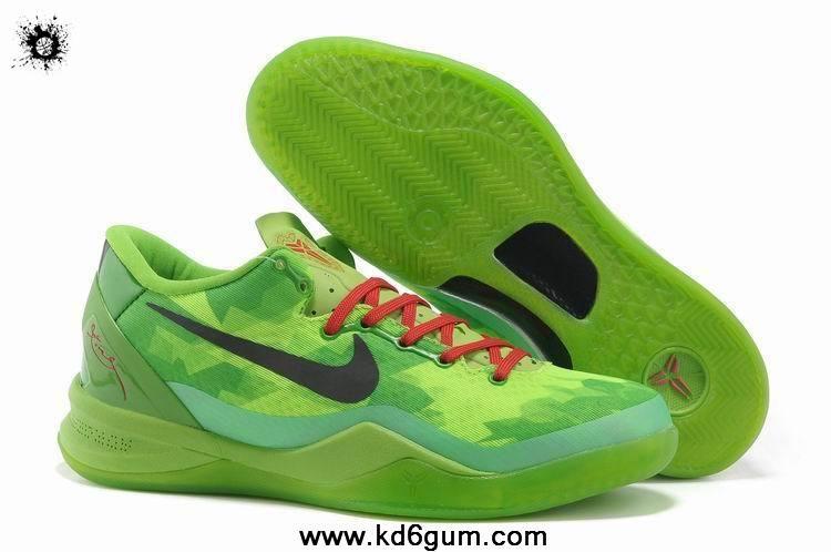 Womens Nike Kobe 8 Grinch Christmas