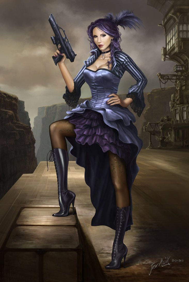 Female Pirate Drawings | Steampunk Pirate Lady by ...