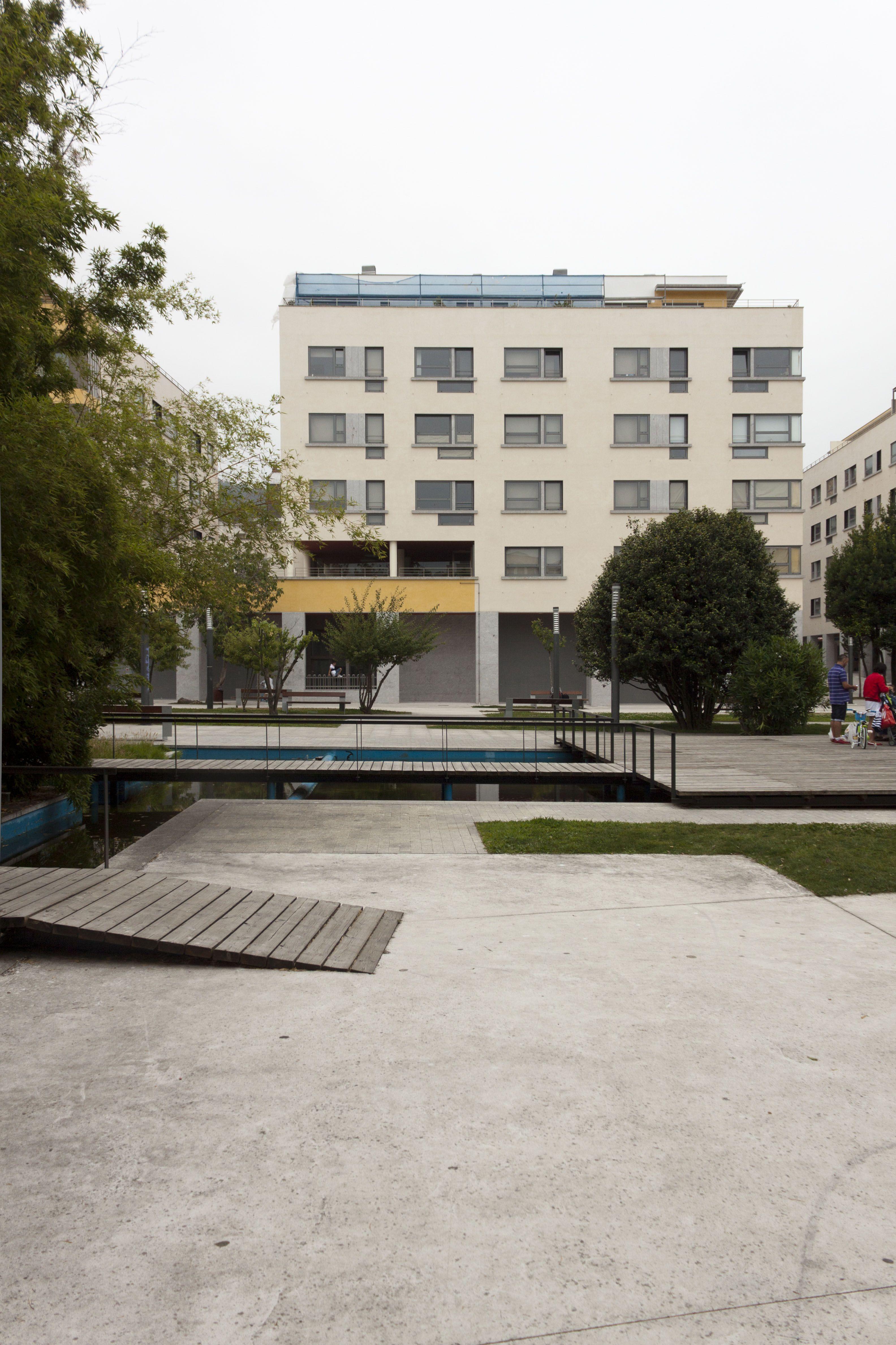 Conxunto residencial Quinteiro Massò - Junquera Arquitectos