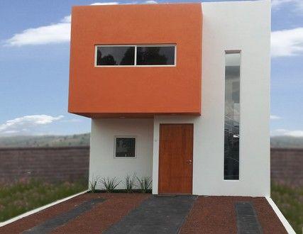 Tonos de naranja fachadas pinterest for Loft modernos exterior