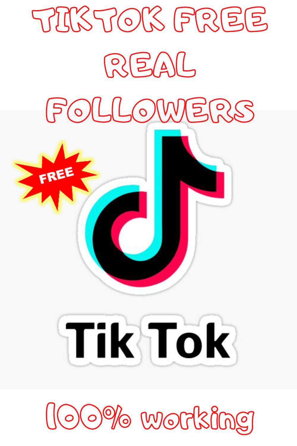 Get Up To 50 000 Free Tiktok Fans Limited Offer How To Get Famous Real Followers Free