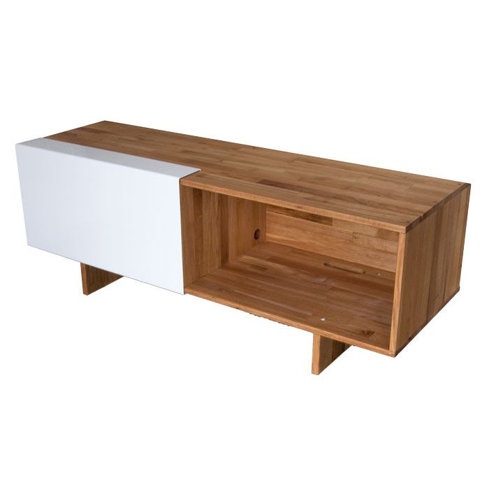 Mash Studios Lax Media Stand Modern Woodworking