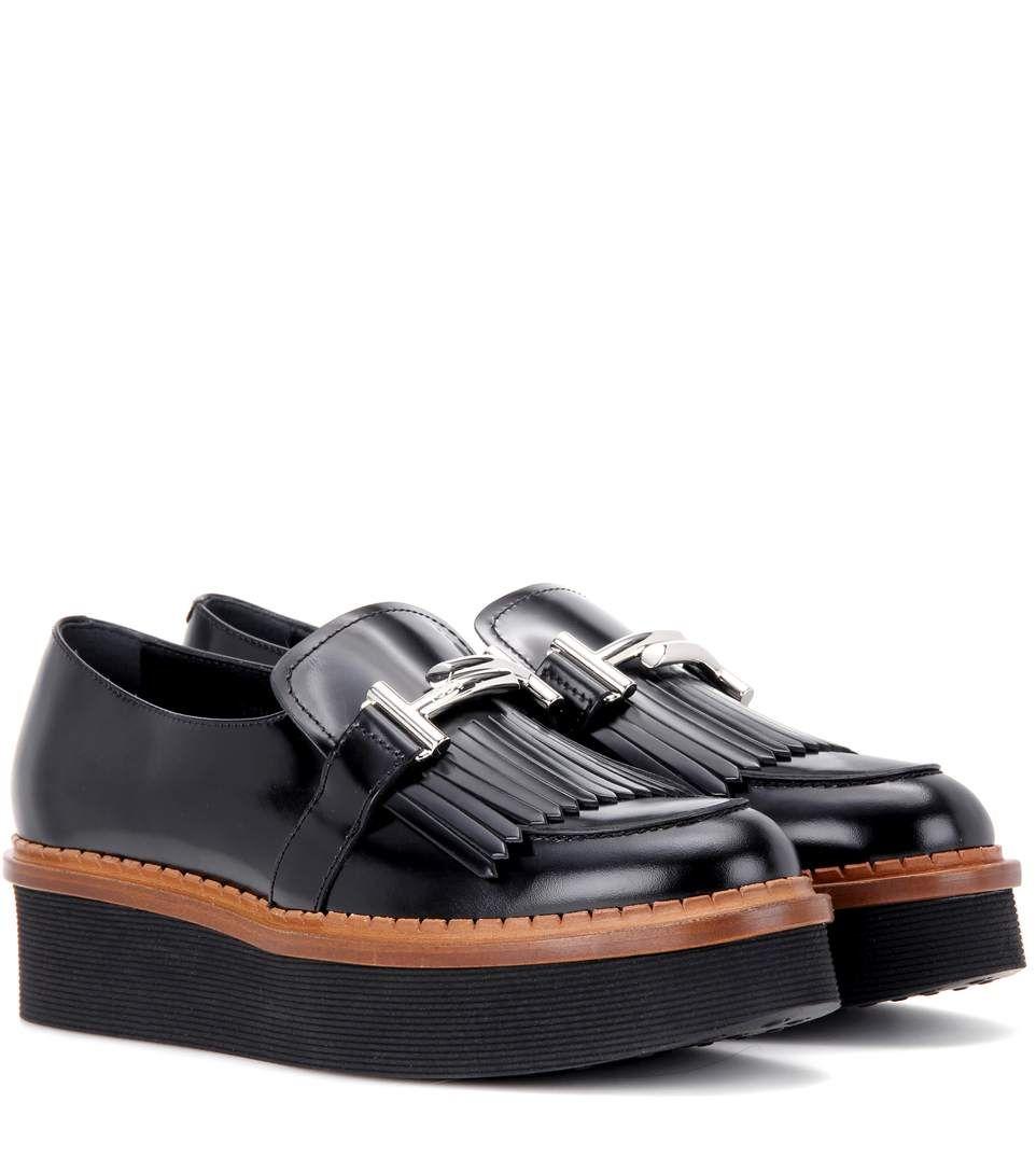 205276fef4e1 TOD S Polished Platform Loafers.  tods  shoes  flats