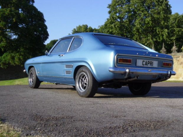 Nicely Restored 1971 Ford Capri 3000gt Xlr With Images Ford