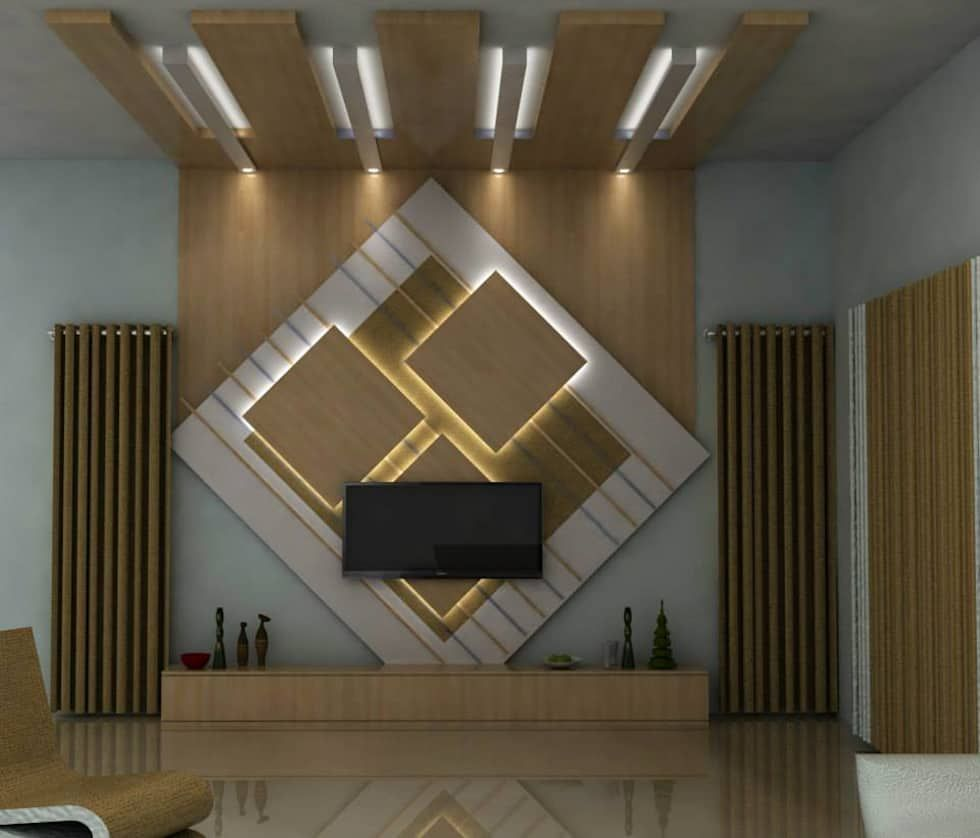 Modern Living Room By Homify Modern Living Area Design Lcd