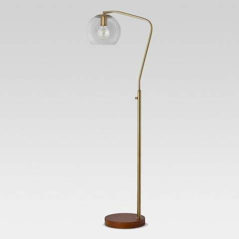Project 62 Menlo Glass Globe Floor Lamp This Is A Nice Looking Modern Lamp I Would Love It By