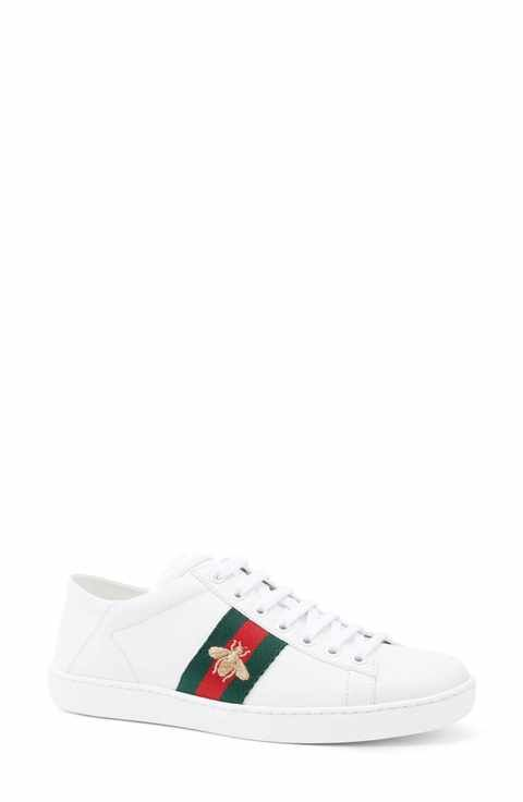 e67ff04516a Gucci New Ace Convertible Heel Sneaker (Women)