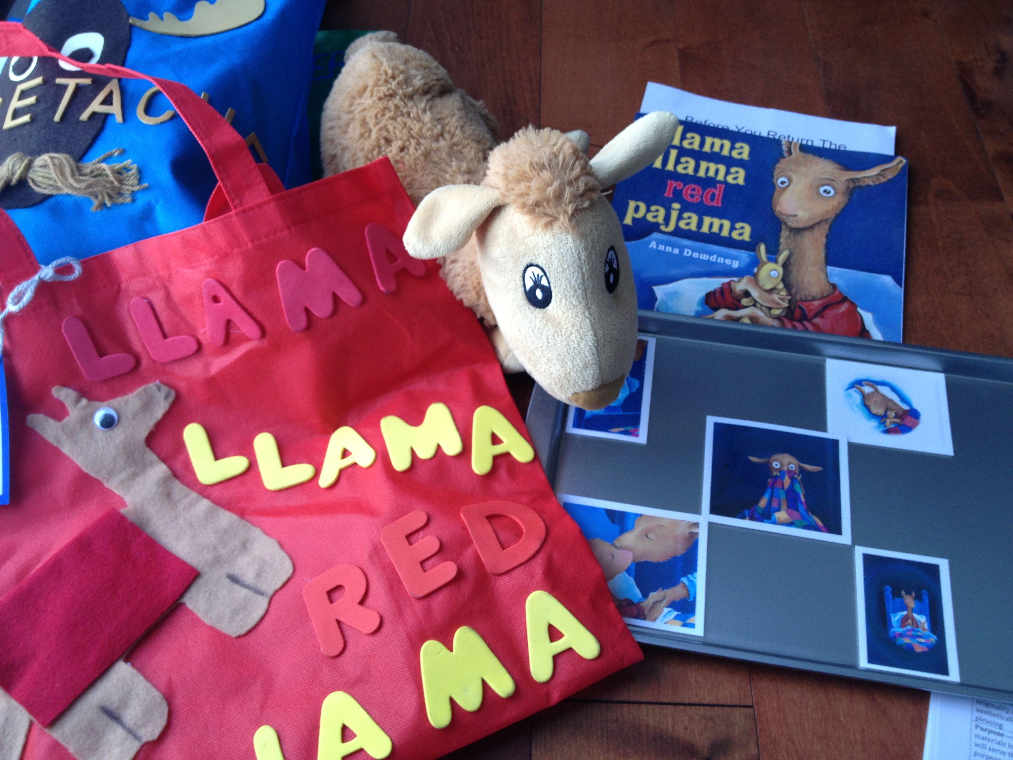 Llama Llama Red Pajama Reading Activity Based On Emotions