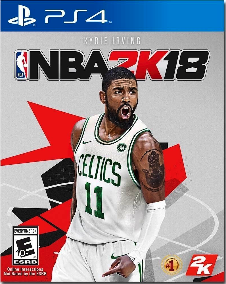 NBA 2K18 (Sony Playstation 4, 2017) PS4 Brand New Sealed