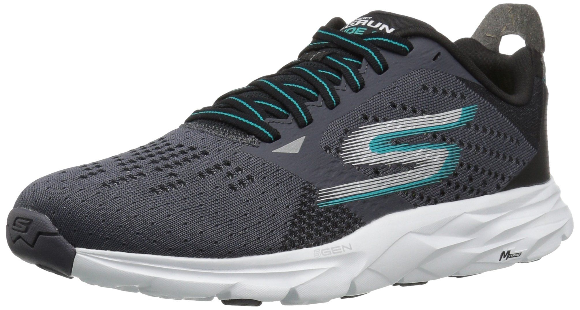 Performance Go Run 400-Swiftly, Chaussures Multisport Outdoor Femme, Noir (Black White), 37 EUSkechers