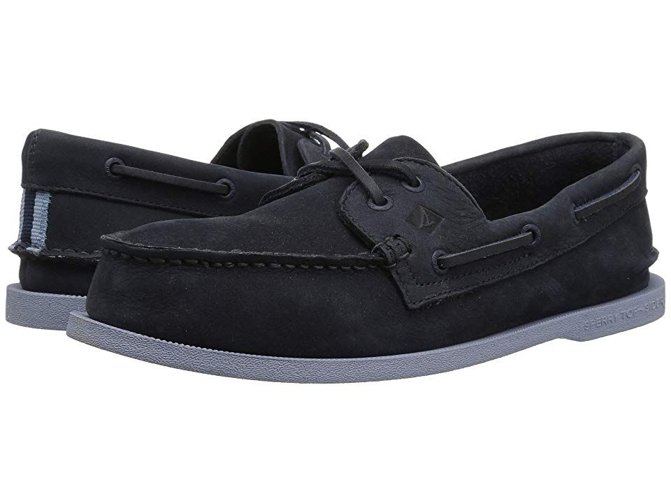 Sperry A O 2-Eye Washable (Navy Grey) Men s Lace up casual Shoes. Take a  bath with the clean crisp and classic style of this Sperry Top-Sider boat  shoe. 6acfab9ba4d