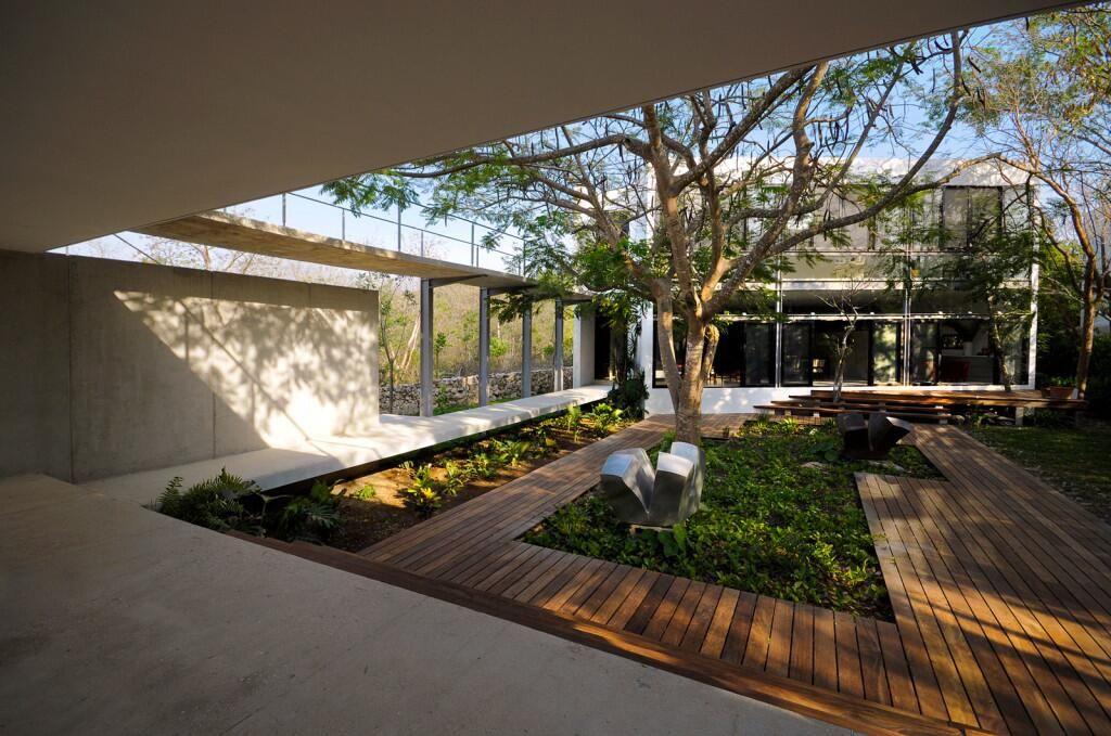 Elrond Burrell On Twitter Courtyard Design Architecture Courtyard Modern Courtyard