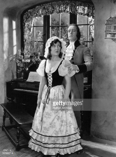 circa 1926: Laura La Plante (with John Boles in a scene from 'La Marseillaise', about the French Revolution of 1789, directed by Paul Fejos for Universal. (Photo by Hulton Archive/Getty Images)