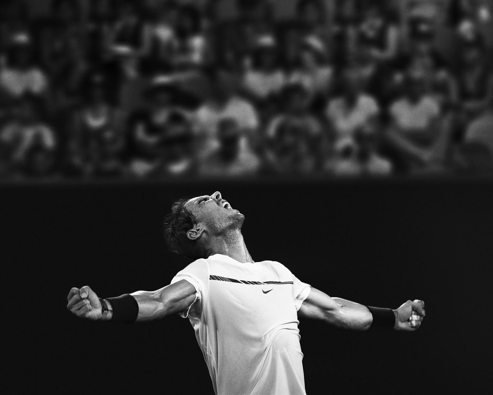 ballena Arreglo función  Rafael Nadal Claims Third Title in New York | Rafael nadal, Nike campaign,  Just do it