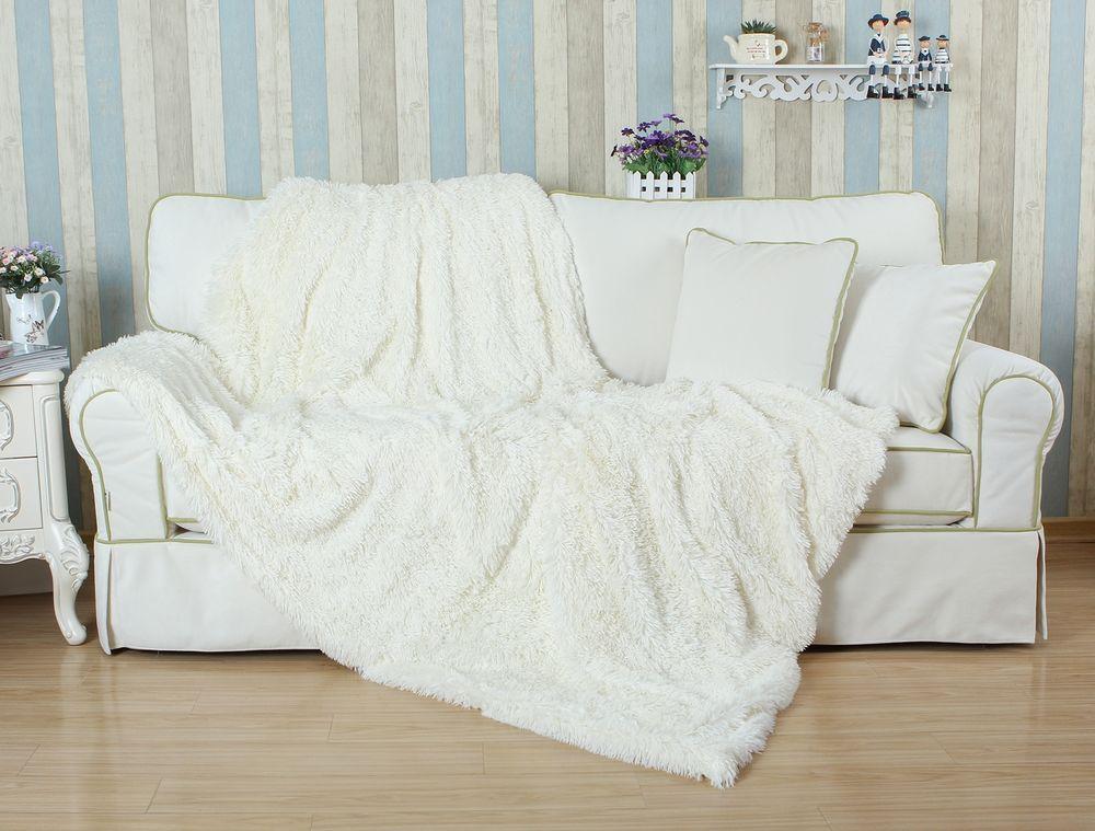 Détails sur Hot Sell Faux Fur PV Plush Fluffy Couverture