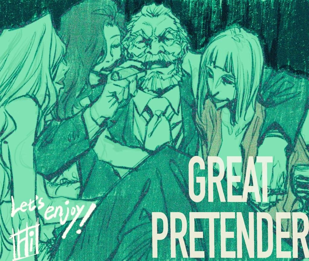 GREAT PRETENDER in 2020 Anime, Zelda characters, Manga