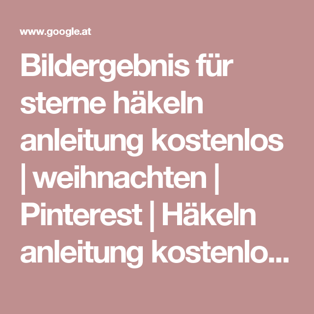 Pinterest Häkeln Weihnachten My Blog