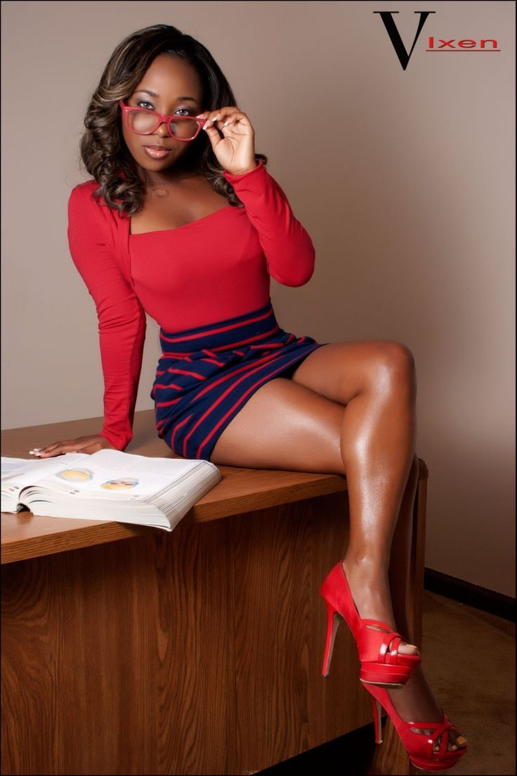 hot ebony teacher