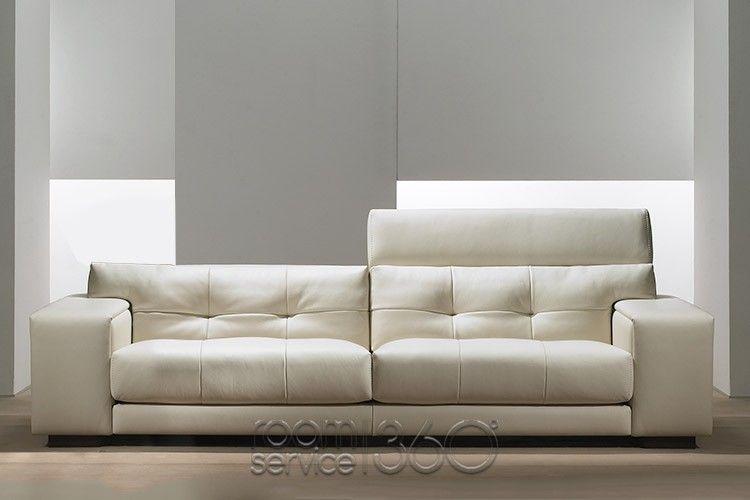 Soleado modern leather sofa d3 by gamma arredamenti for Dama arredamenti