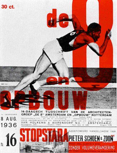 1936 de 8 en opbouw title page
