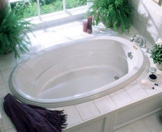 Jacuzzi Whirlpool Gal Gallery Oval Drop In Soaking Tub Fixture Universe 702 For 62 830 72