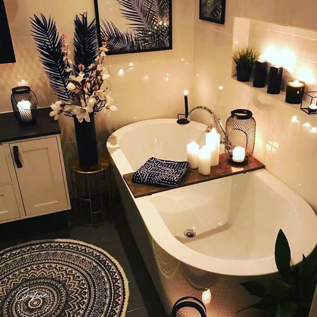 Ways to Make Your Bathroom Look More Luxury - Crafome  #bathroomdesign #bathroomideas #bathroomdecor #bathroominspiration #bathroominspo #bathroomgoals #bathroomstyling #bathroomrenovation #bathroom #modernbathroom #luxurybathroom #smallbathroom #minimalbathroom #bathroomtiles #bathroomremodel #bathroommakeover #bathroomdecoration #luxuryhome #luxurydecor #luxurydesign