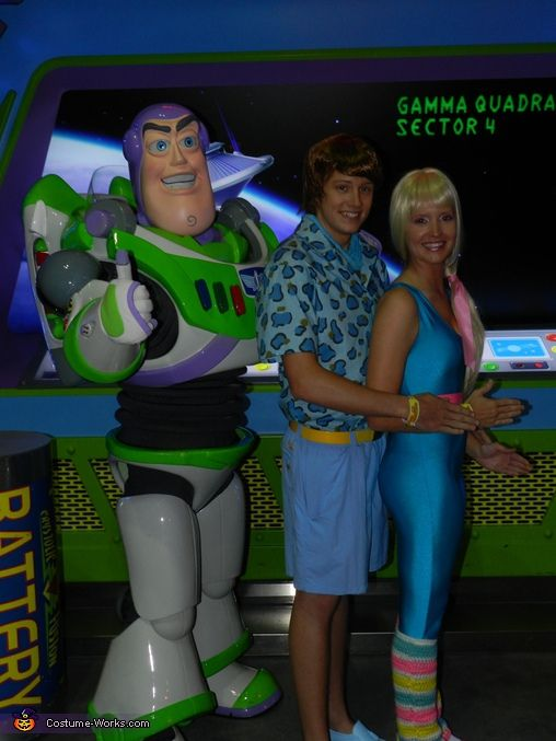 Toy Story 4 Halloween Costumes.Barbie And Ken From Toy Story 3 Halloween Costume Contest At